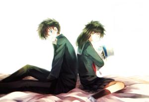 kuroba kaito and nakamori aoko