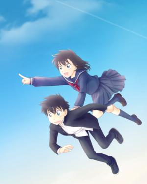 magic kaito flying