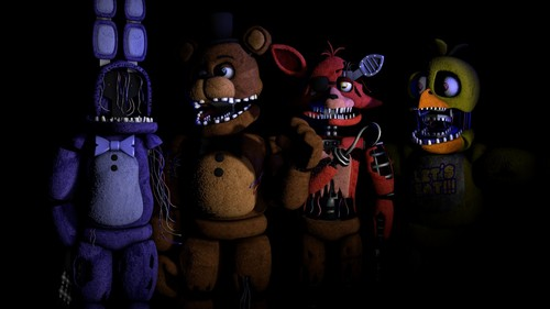 Five Nights at Freddy's پیپر وال with a totem pole titled maxresdefault