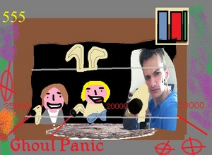 me Vada and Veruca on the Ghoul Panic ORP monitor