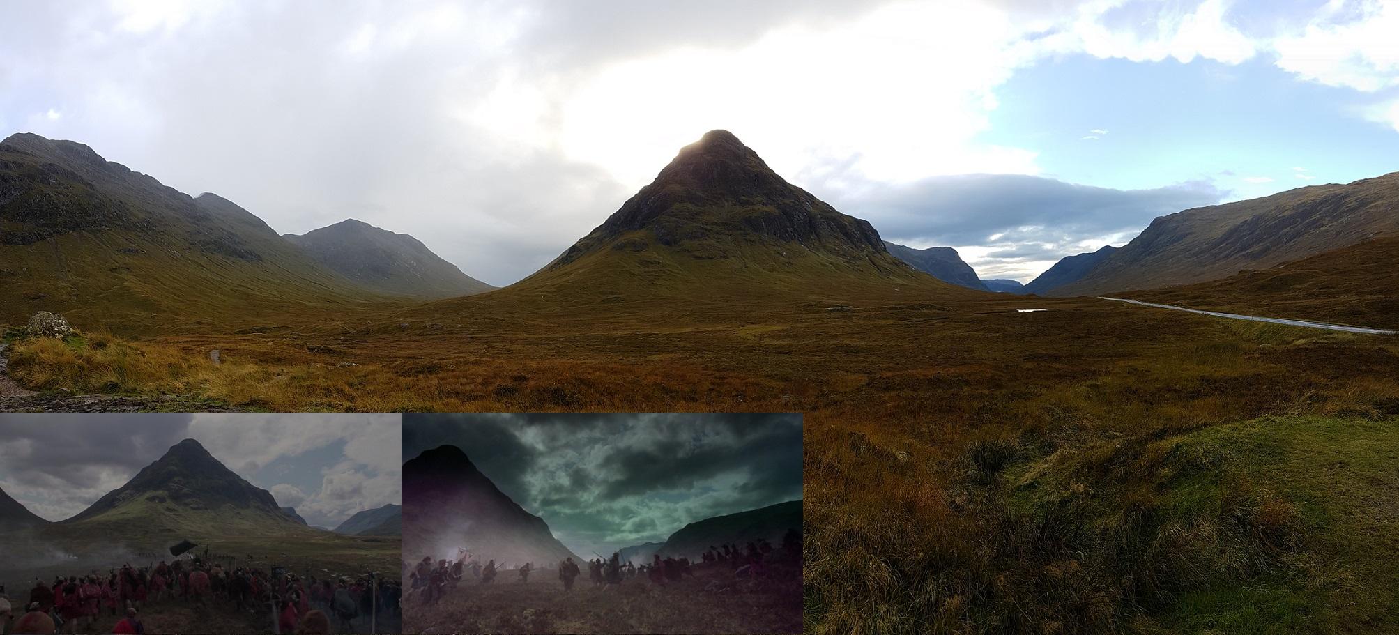 Highlander Imágenes Montagne Buachaille Etive Mor Gps 56 39