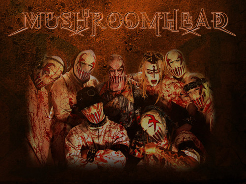 Metal wallpaper possibly containing anime entitled mushroomhead by stormzofreaiity