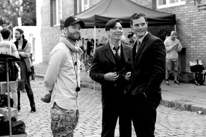 on the set of Anthropoid