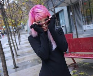 گلابی hair la carmina pastel goth hairstyle, unicorn mermaid hair, pastel haircolor