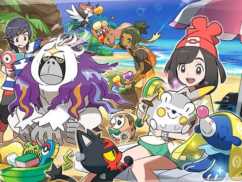 Pokémon wolpeyper with anime called pokemon refresh