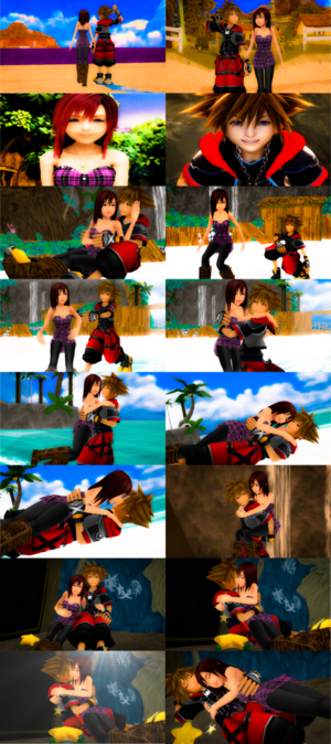 sora and kairi sweet romances story complete .