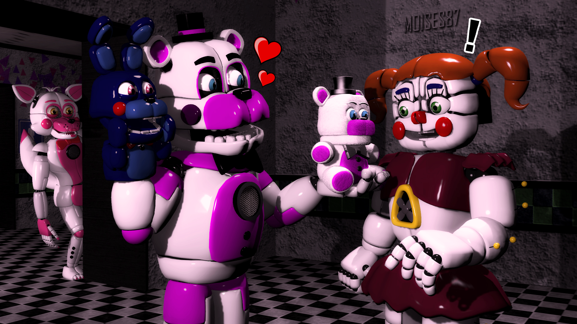 special gift funtime freddy x baby দ্বারা moises87 dabnjvy