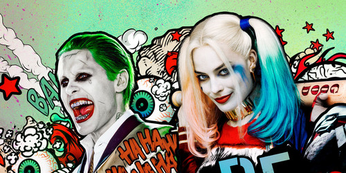 Suicide Squad wallpaper probably containing Anime called suicide squad poster/wallpaper