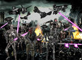 terminator army  - terminator fan art