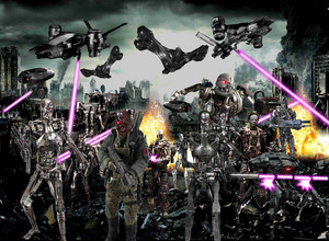 《终结者》 army