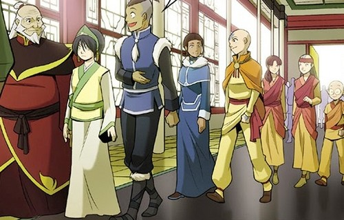 Avatar: The Last Airbender achtergrond possibly with anime titled the Rift -Gaang