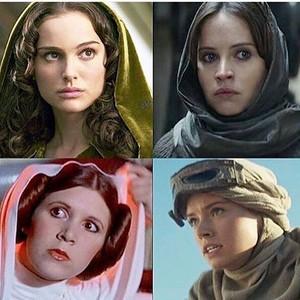 the ladies of 별, 스타 Wars