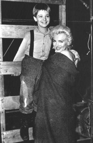 tommy rettig and marilyn monroe