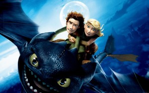 dinding 1409235702 how to train your dragon hiccup toothless and astrid
