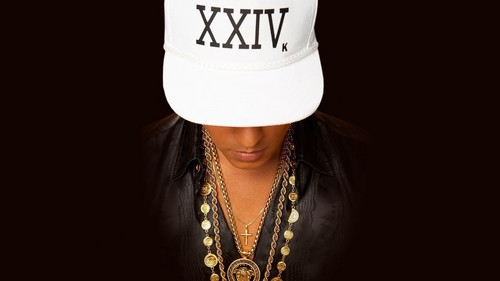 "Bruno Mars fond d'écran containing a fedora and a boater titled ""24kmagic"" fond d'écran"
