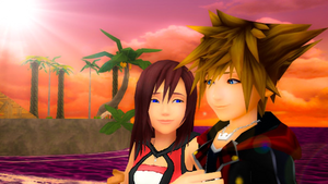 we made a promise sora x kairi kh3