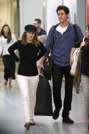 Emma Watson at JFK airport, NYC [June 24, 2016]