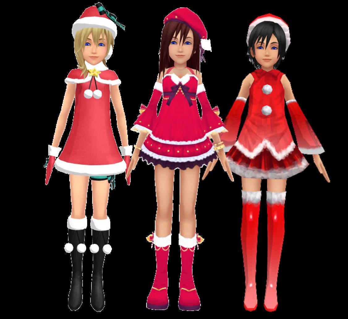 The Girls of Kingdom Hearts images .Kingdom Hearts Kairi Namine and ...