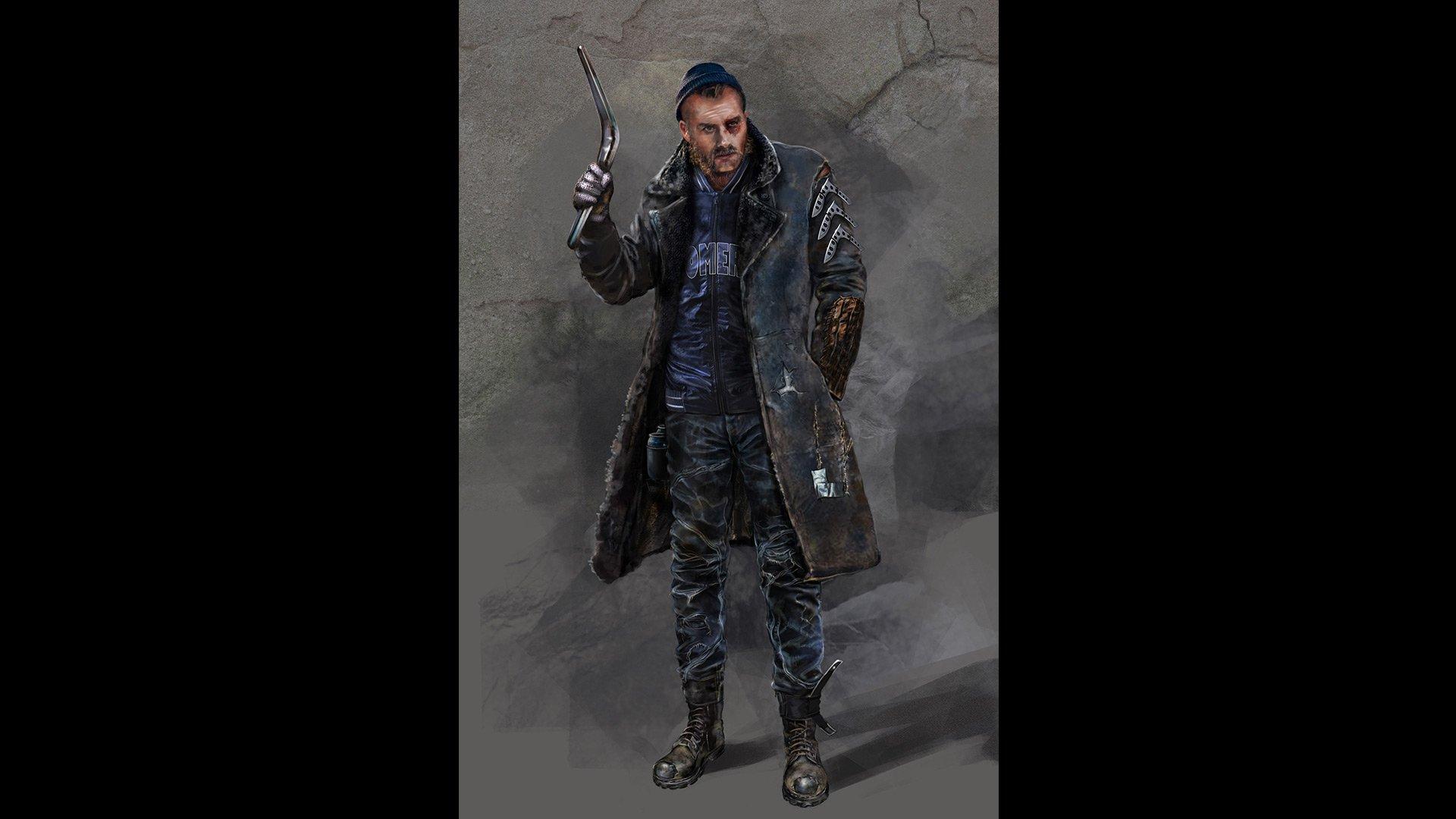 'Suicide Squad' Concept Art ~ Captain Boomerang