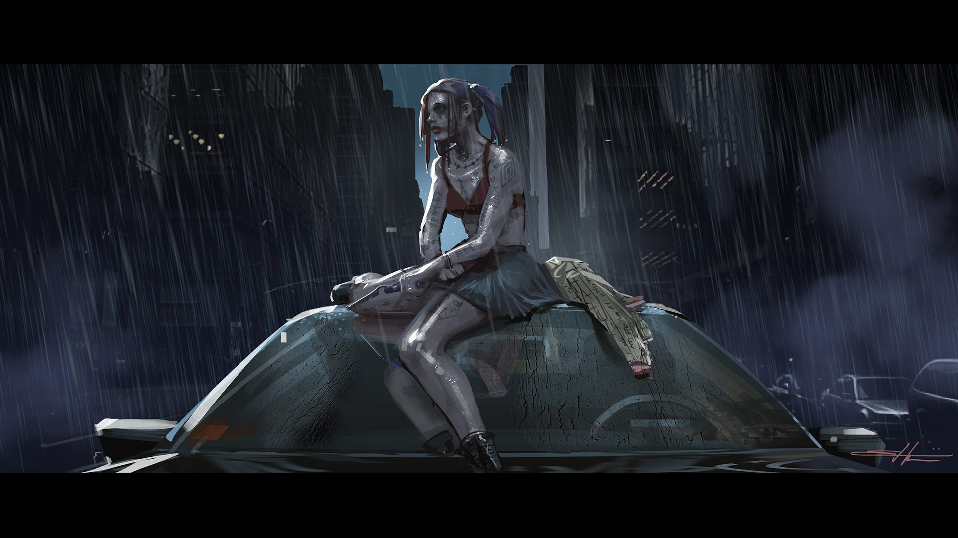 'Suicide Squad' Concept Art ~ Harley Quinn