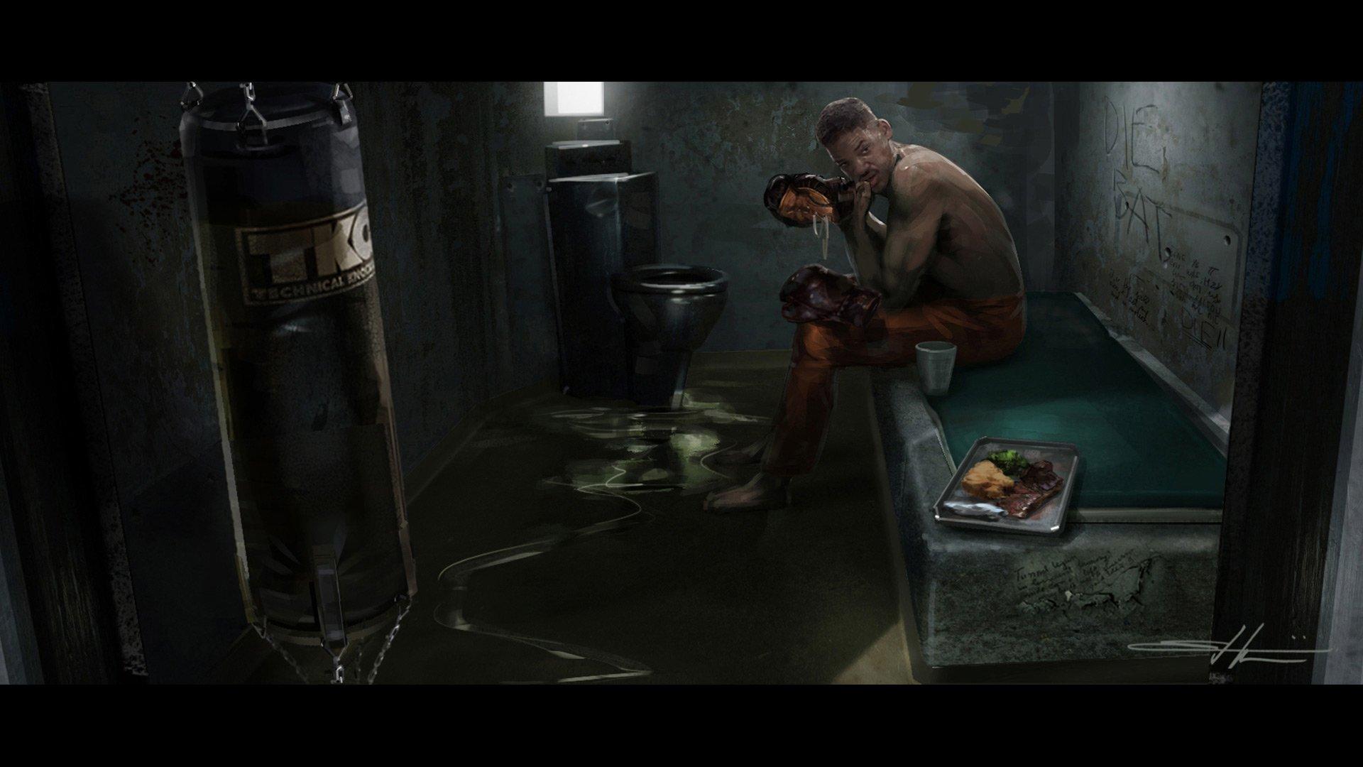 'Suicide Squad' Concept Art ~ Killer Croc