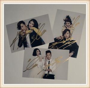 font b Jang b font font b Keun b font Suk Lee Ji Eun autographed