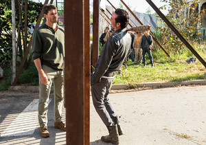 7x04 ~ Service ~ Negan and Spencer