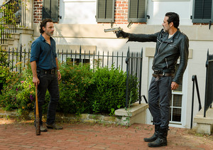 7x04 ~ Service ~ Rick and Negan