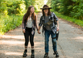 7x05 ~ Go Getters ~ Carl and Enid - the-walking-dead photo