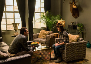 7x07 ~ Sing Me a Song ~ Carl and Negan