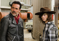 7x07 ~ Sing Me a Song ~ Carl and Negan - the-walking-dead photo