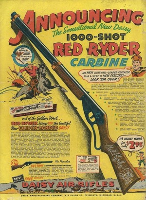 A giáng sinh Story - Red Ryder Ad