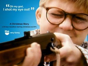 A 크리스마스 Story 바탕화면 - Ralphie