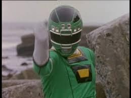Adam Morphed As The Original Green Turbo Ranger