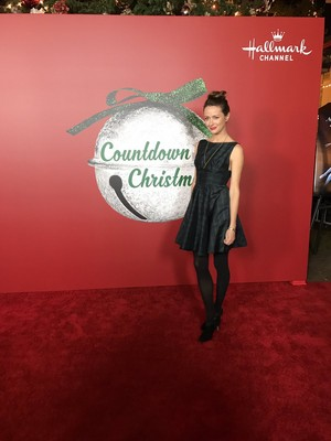 Amy Acker at Hallmark's Countdown to Krismas