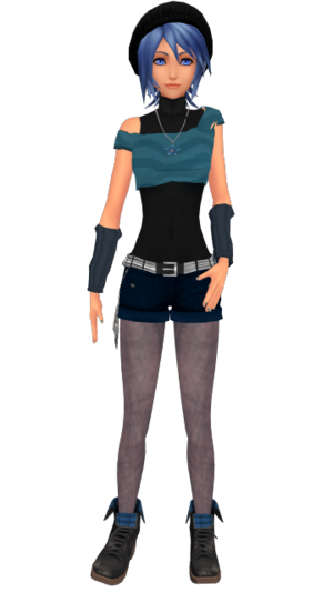 Aqua  Hipster Casual  by Lexalice