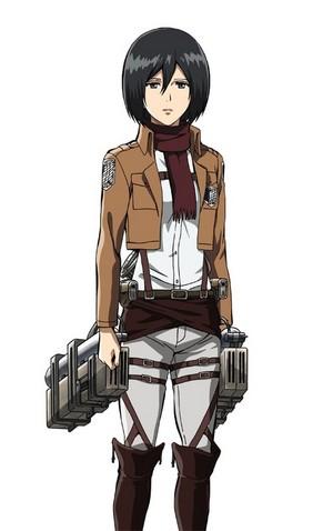 AttackOnTitan (Mikasa)