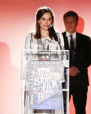 Attending the Israel Film Festival 30th Anniversary Gala Awards Dinner in Beverly Hills, CA (Novembe