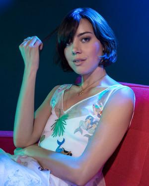 Aubrey Plaza - The emballage, wrap Photoshoot - July 2016