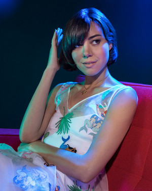 Aubrey Plaza - The membungkus, bungkus Photoshoot - July 2016