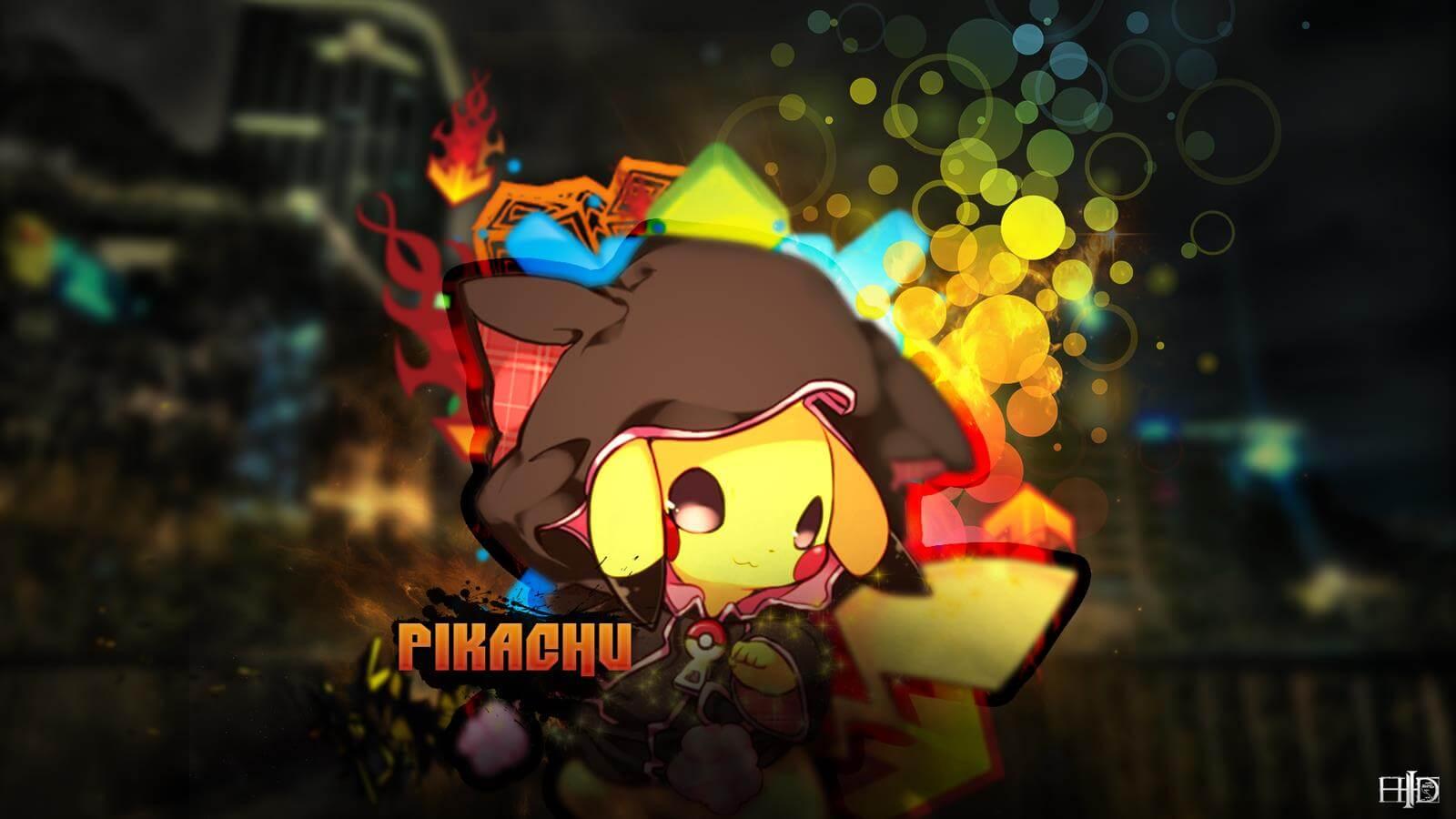 Awesome Pikachu Wallpaper