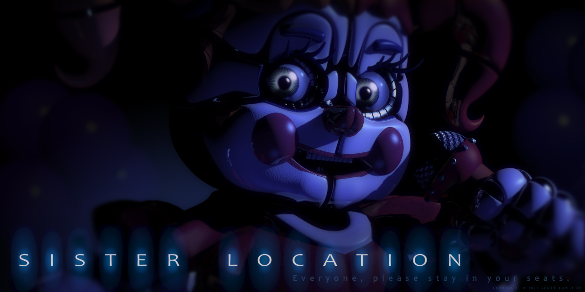 Sisterlocation Images Baby Teaser Hd Fond Décran And Background