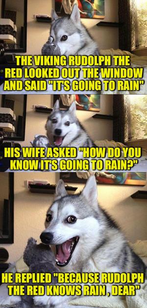 Bad Pun Dog.