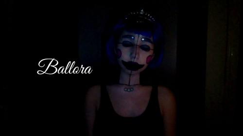 Five Nights at Freddy's پیپر وال called Ballora Makeup