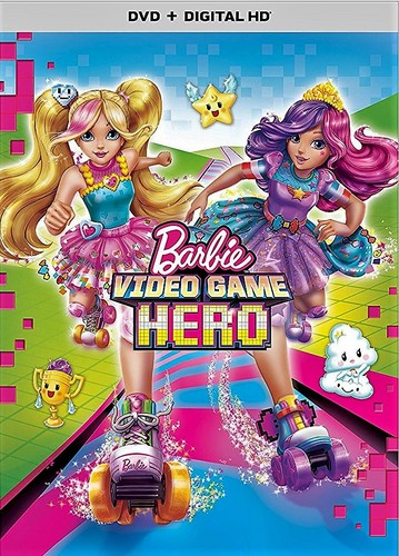 Barbie films achtergrond titled Barbie Video Game Hero cover