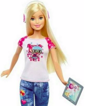 Barbie Video Game Hero doll (blurry)