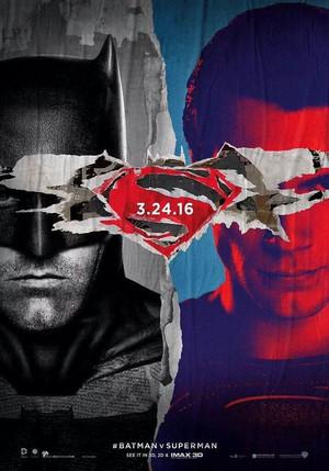 Batman vs Superman: Dawn Of Justice Poster