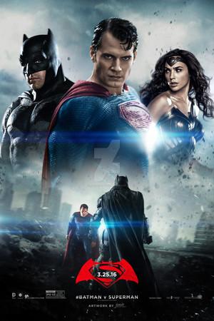 Бэтмен vs Superman: Dawn Of Justice Poster