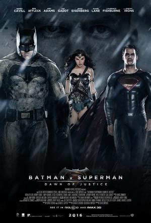 배트맨 vs Superman: Dawn Of Justice Poster