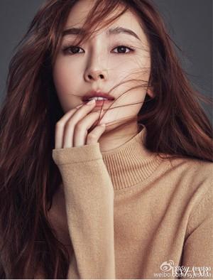 Bazaar Korea December issue with Jessica Jung